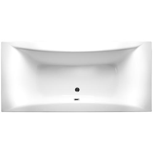 Alpen Ванна акриловая LUNA 170х75x44 (260 л) прямоугольная