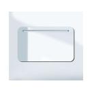 зеркало со светильником цвет - White high gloss Duravit PURAVIDA