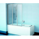 Шторка для ванн VS3 100 белая раин