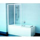 Шторка для ванн VS2 105 белая транспарент