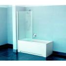 Шторка для ванн PVS1-80 белая транспарент