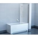 Шторка для ванной Ravak BVS1-80 хром+Транспарент