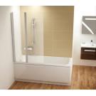 Шторка для ванной Ravak CVS2-100 R сатин+стекло Transparent