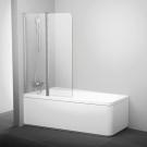 Шторка для ванн 10CVS2-100 L блестящая транспарент Ravak 7QLA0C03Z1
