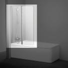 Шторка для ванн 10CVS2-100 R белая транспарент Ravak 7QRA0103Z1