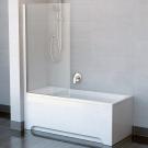 Шторка для ванн CVS1-80 L блестящий стекло Transparent Ravak 7QL40C00Z1