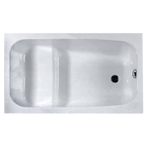 Riho Ванна акриловая PETIT 120х70 43 135 л прямоугольная