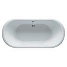 RIHO акриловая ванна DUA 180х86 Белая панель (Сифон и опора в комплекте)