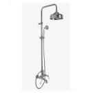 F5404/2CR Душевая система с верхним душем 200mm изливом на ванну и ручным душем Fima Carlo Frattini серия Herend хром