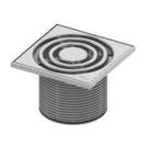 TECE Базовая решетка 150 х 150 мм с монтажным элементом пластик 3660003