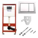 9400006 Модуль с панелью смыва Base хром глянец комплект TECEbase 4 в 1