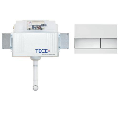 К041802 Комплект для установки напольного унитаза с панелью смыва 9240802 ТЕСЕsquare хром глянц