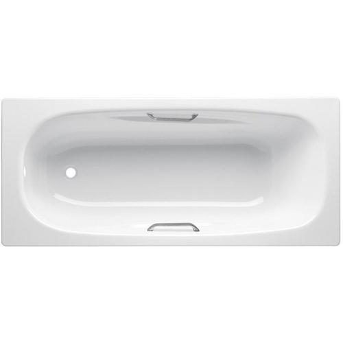 Ванна стальная BLB UNIVERSAL ANATOMICA 150x75 белая с отверстиями для ручек