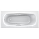 Ванна стальная BLB UNIVERSAL HG 170x75 белая 3,5 мм с отверстиями для ручек