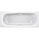 Ванна стальная BLB UNIVERSAL HG 150x70 белая 3,5 мм с отверстиями для ручек