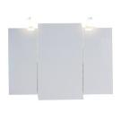 Шкаф навесной с зеркалом Aqwella БЕРГАМО Ber.04.10 флор