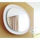 Зеркало в раме Aqwella Дюна Dun.02.10/W Белое