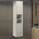 COMFORTY Шкаф-колонна Верона-35-Н дуб белый