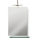 Cersanit 300302 Зеркало Estella с подсветкой со стеклянной полочкой 50x70x118