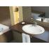 Cersanit 110096 Раковина Calla встраиваемая на столешницу 53,5x50 см