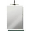 300302N Зеркало Estella с подсветкой со стеклянной полочкой 50x70x11,8 см Cersanit