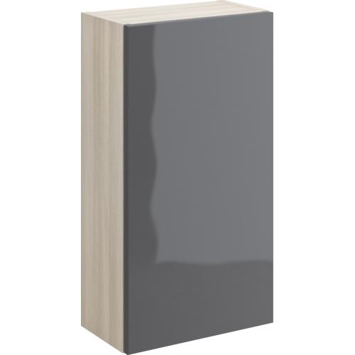 568002 Шкафчик настенный SMART универсальный серый Cersanit