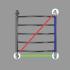 Полотенцесушитель водяной Energy CLASSIC 600x600