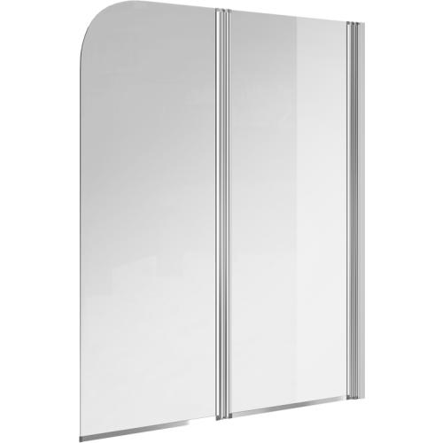 623002 Экран для ванны EASY 140x115 двойной прозрачный Cersanit