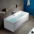 301103 Ванна прямоугольная Virgo 180x80 см белая Cersanit