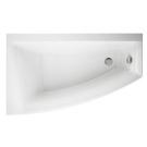 301131 Ванна ассиметричная Virgo MAX 150x90 см левая белая Cersanit