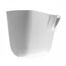 Cersanit 31024 Полупьедестал Pure белый, для раковин 50/55/60 см