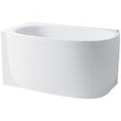 Laufen 2.2255.6.017.000.1 ванна MIMO 140х80 (белая ванна с черной панелью)
