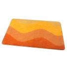 MA2751G Коврик для ванной 1-ый оранжевый-orange (50х70 см) Fixsen