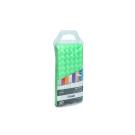 FX-3003F Шторка для ванной (зеленая) Fixsen