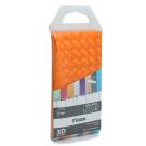 FX-3003G Шторка для ванной (оранжевая) Fixsen