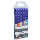 FX-3003P Шторка для ванной (фиолетовая) Fixsen