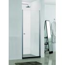 AZ-NK6211 Распашная дверь 800x1900 профиль серебро стекло прозрачное 6 мм с покрытием Easy clean Azario