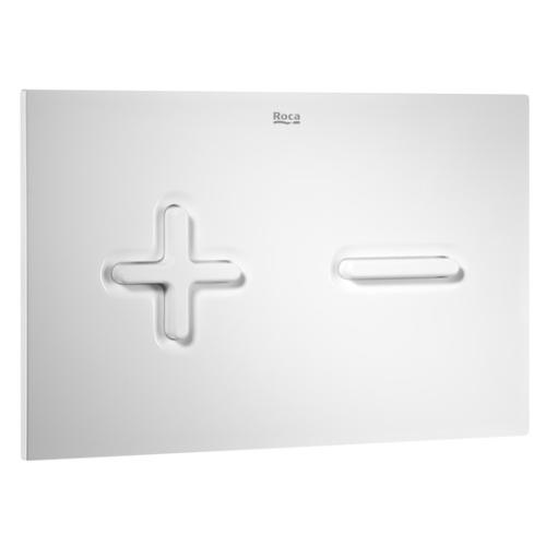 Roca 890085000 клавиша PRO двойного смыва PL6 (белая)