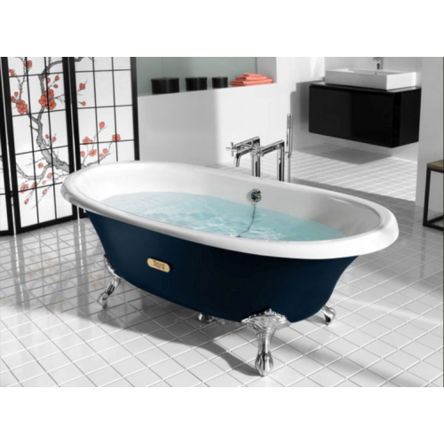 Roca 233650004 ванна NEWCAST WHITE 170х85 (синий)
