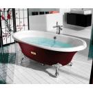 Roca 233650003 ванна NEWCAST WHITE 170х85 (бордо)