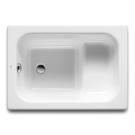 Roca 213000001 ванна BANASEO чугун 100х70 (белый)