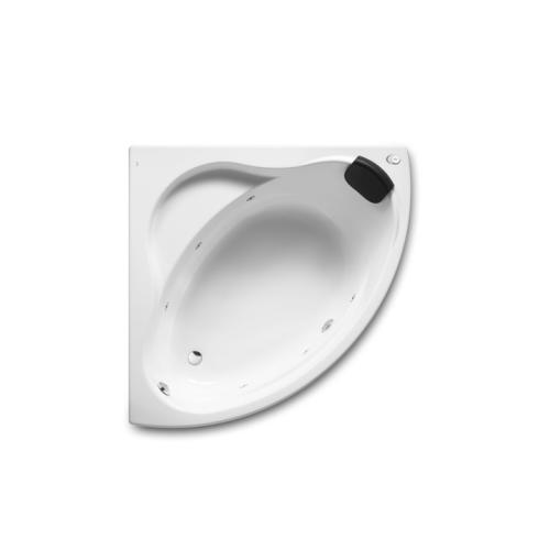 Roca 248100001 ванна BALI с г/м акриловая угловая 130х130 (белый)