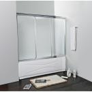 Шторка для ванной Cezares FAMILY-V-3-160/140-C-Cr