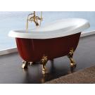 BelBagno Акриловая ванна Классическая 1700x805x815 BB04-CRM