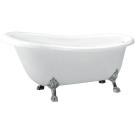 BelBagno Акриловая ванна Классическая 1700x805x815 BB04-ROS-CRM