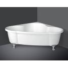 BelBagno Акриловая ванна угловая 1500x1500x600 BB07-CRM