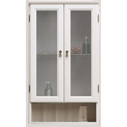 Opadiris Клио 60 шкаф подвесной двустворчатый Орех антикварный Нагал, Р46 или Белый Weiss