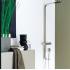 5A2734A00 Душевая панель-термостат Atai-T из нержавеющей стали ручной душ верхний душ глянцевая 34x375x1275 см