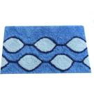 Коврик для ванной комнаты Iddis Curved Lines, blue 400A580I12
