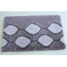 Коврик для ванной комнаты Iddis Curved Lines, grey 401A580I12